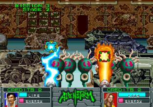 Alien Storm Arcade 122