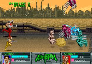 Alien Storm Arcade 130