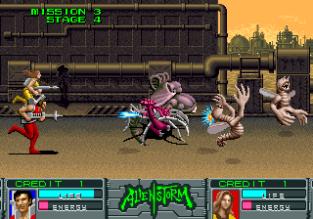 Alien Storm Arcade 133