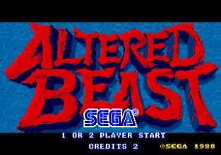 Altered Beast Arcade 01
