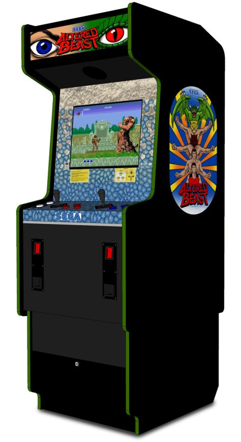 Altered Beast Arcade Cabinet 1