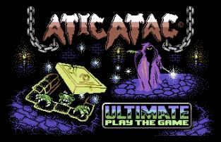 Atic Atac C64 001