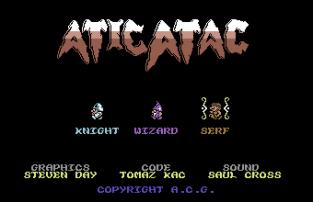Atic Atac C64 108