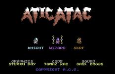 Atic Atac C64 120