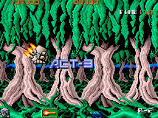 Atomic Robo-Kid Arcade 45