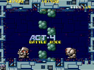 Atomic Robo-Kid Arcade 64