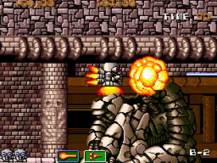 Atomic Robo-Kid Arcade 75