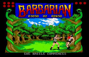 Barbarian Atari ST 09