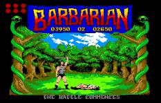 Barbarian Atari ST 10