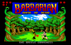 Barbarian Atari ST 11