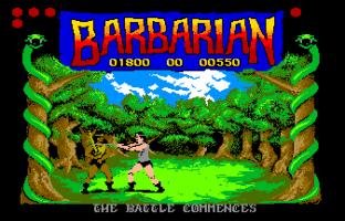 Barbarian Atari ST 12