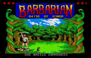 Barbarian Atari ST 20
