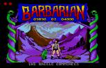 Barbarian Atari ST 25