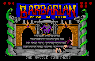Barbarian Atari ST 53