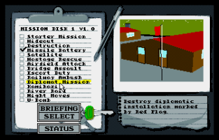 Battle Command Amiga 78
