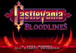 Castlevania - Bloodlines Megadrive 004