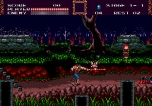 Castlevania - Bloodlines Megadrive 009