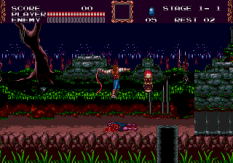 Castlevania - Bloodlines Megadrive 010