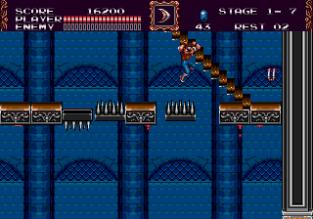 Castlevania - Bloodlines Megadrive 042