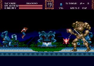 Castlevania - Bloodlines Megadrive 078
