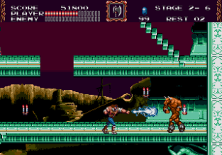 Castlevania - Bloodlines Megadrive 111
