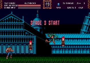 Castlevania - Bloodlines Megadrive 122