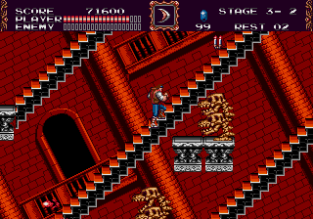 Castlevania - Bloodlines Megadrive 130