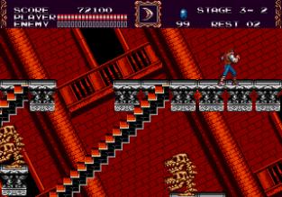 Castlevania - Bloodlines Megadrive 133