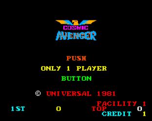 Cosmic Avenger Arcade 01
