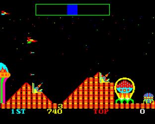 Cosmic Avenger Arcade 12