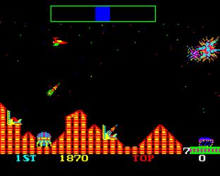 Cosmic Avenger Arcade 20