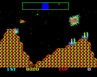 Cosmic Avenger Arcade 53