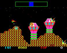 Cosmic Avenger Arcade 54