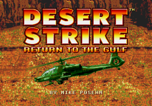 Desert Strike - Return to the Gulf Megadrive 001