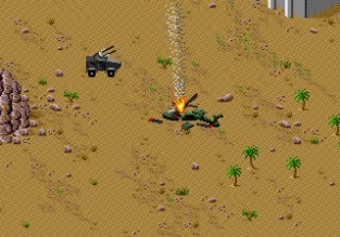 Desert Strike - Return to the Gulf Megadrive 020