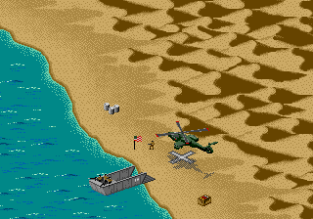 Desert Strike - Return to the Gulf Megadrive 023