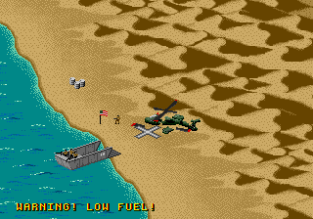Desert Strike - Return to the Gulf Megadrive 034