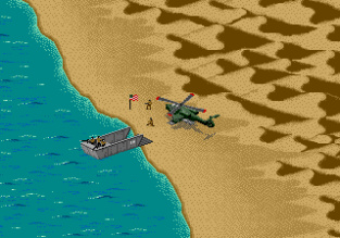 Desert Strike - Return to the Gulf Megadrive 045