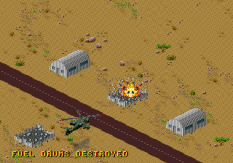 Desert Strike - Return to the Gulf Megadrive 055