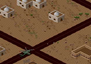 Desert Strike - Return to the Gulf Megadrive 089