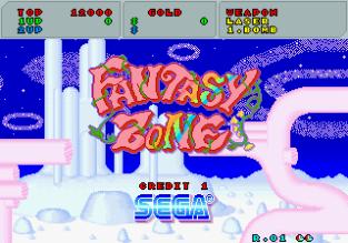 Fantasy Zone Arcade 001