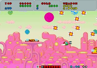 Fantasy Zone Arcade 045