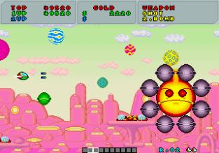 Fantasy Zone Arcade 056