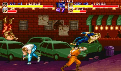 Final Fight Arcade 105