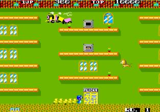 Flicky Arcade 09