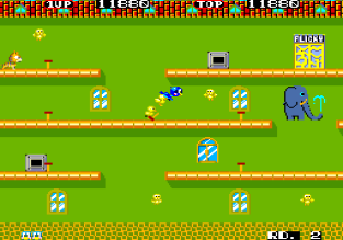 Flicky Arcade 12