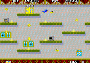 Flicky Arcade 31