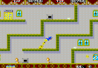 Flicky Arcade 42