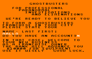 Ghostbusters Amstrad CPC 01