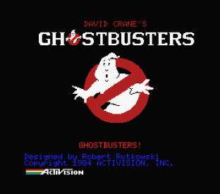 Ghostbusters MSX 01